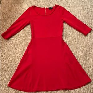 NWOT red fitted dress The Limited PXS 💋👠🍒